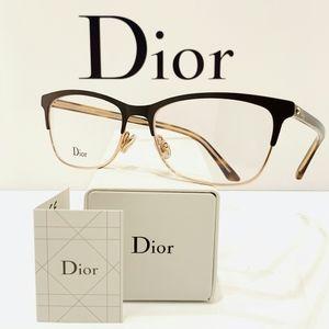 """Dior Style""""Montaigne32"""" Glasses in Brown"""